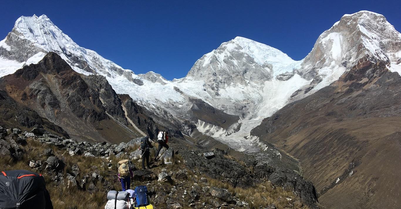 Chopicalqui in Peru's Cordillera Blanca