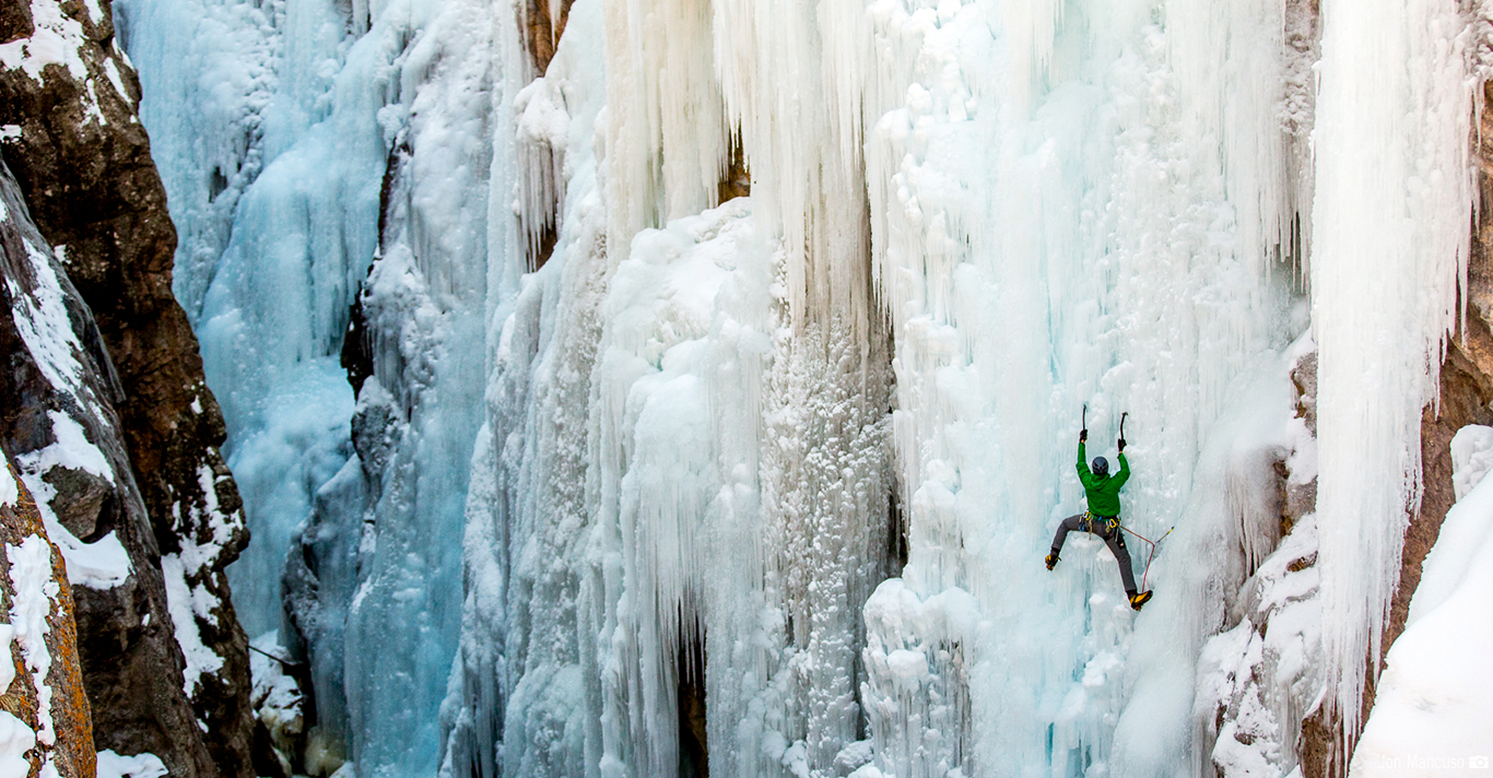 North America's Premiere Ice Climbing Destination