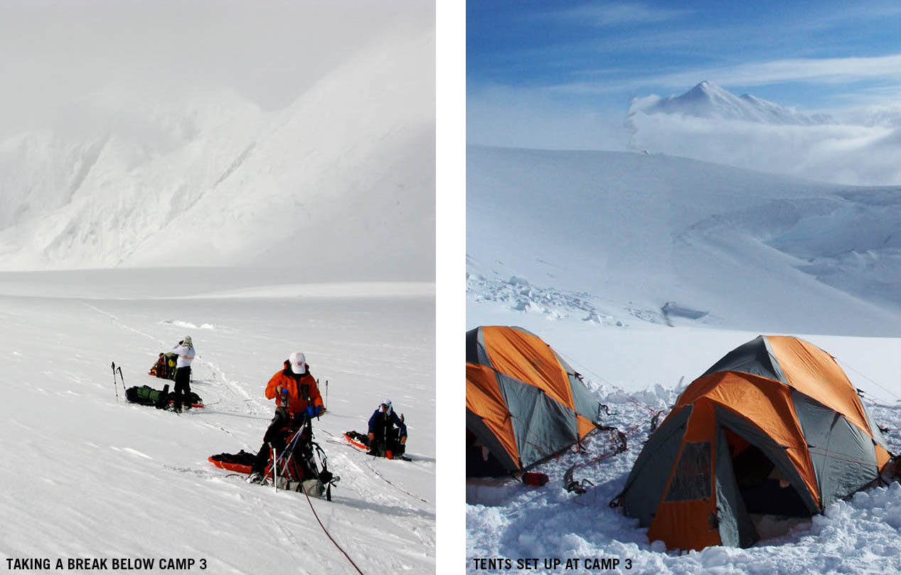 9,600' Camp To 11k Camp