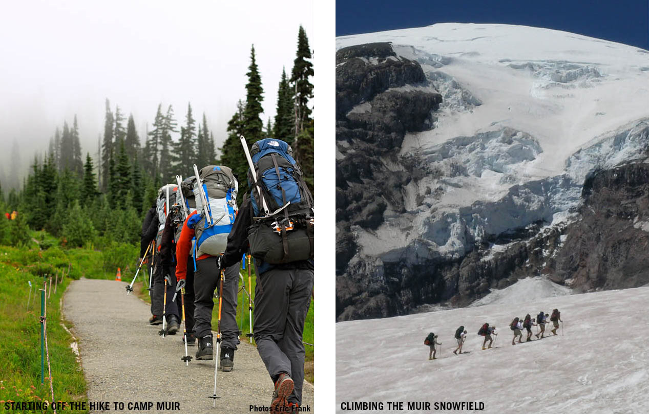 Climb To Camp Muir