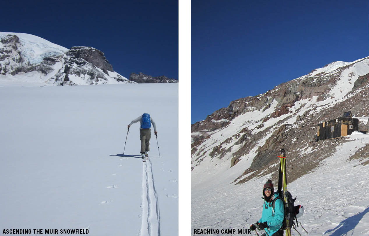 Ascent To Camp Muir