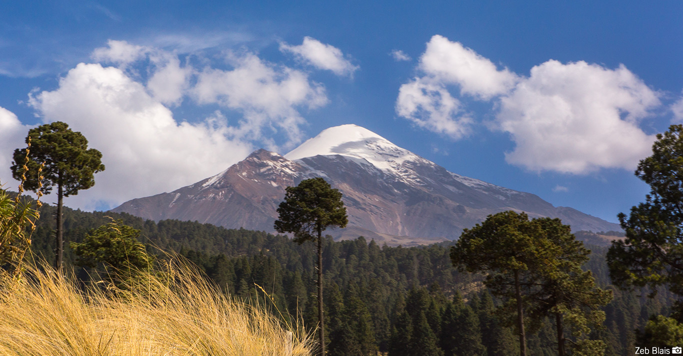 Orizaba and Ixtaccihuatl - Mexico