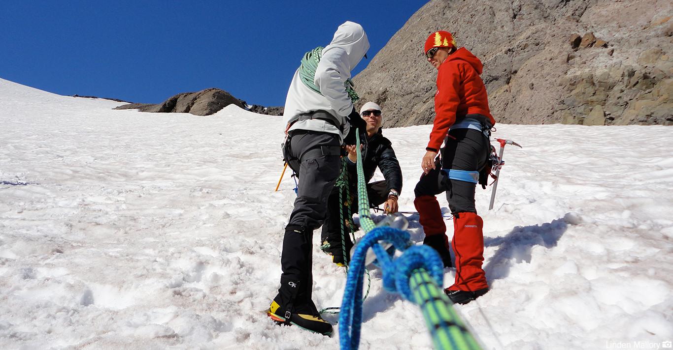 Mt. Rainier - Crevasse Rescue School