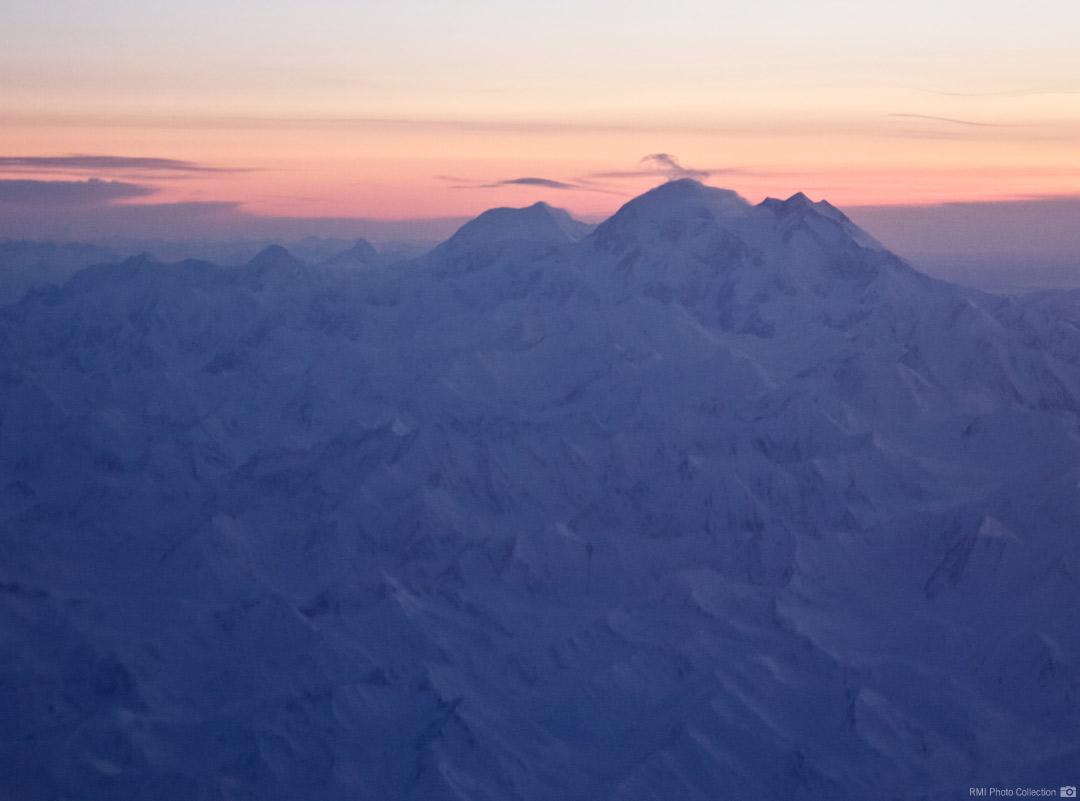 Mt McKinley: 20,320'