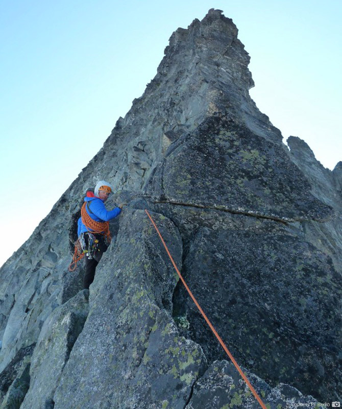 Climbing the West Ridge of Forbidden Peak