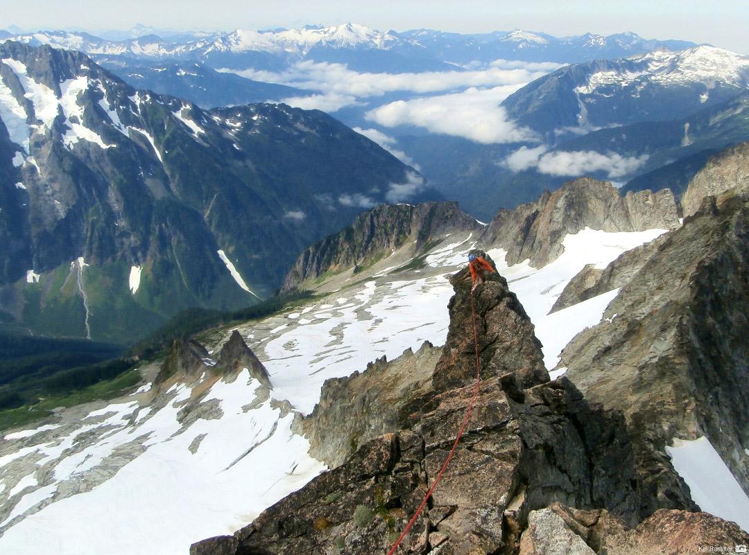 Climbing Forbidden Peak