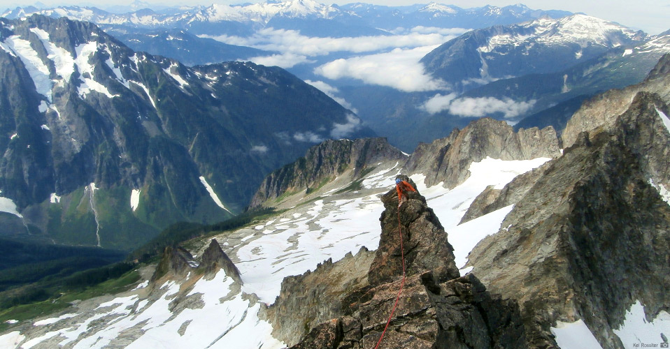 The West Ridge of Forbidden Peak