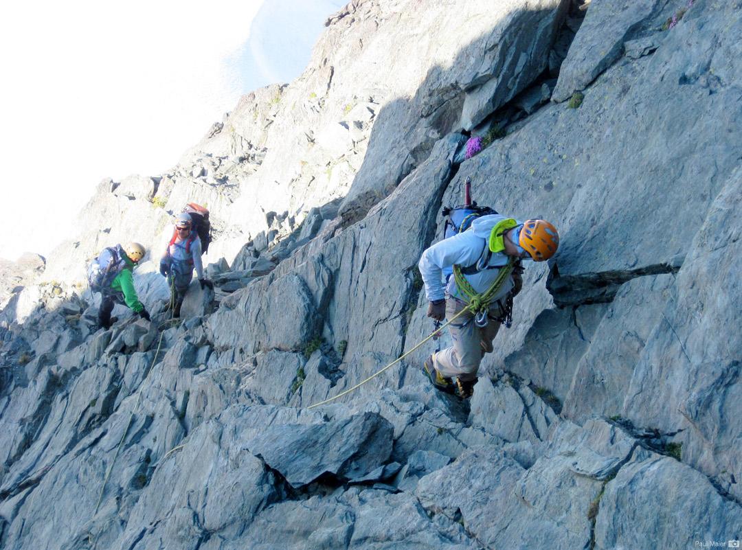 Climbing Mt. Shuksan's Summit Pyramid