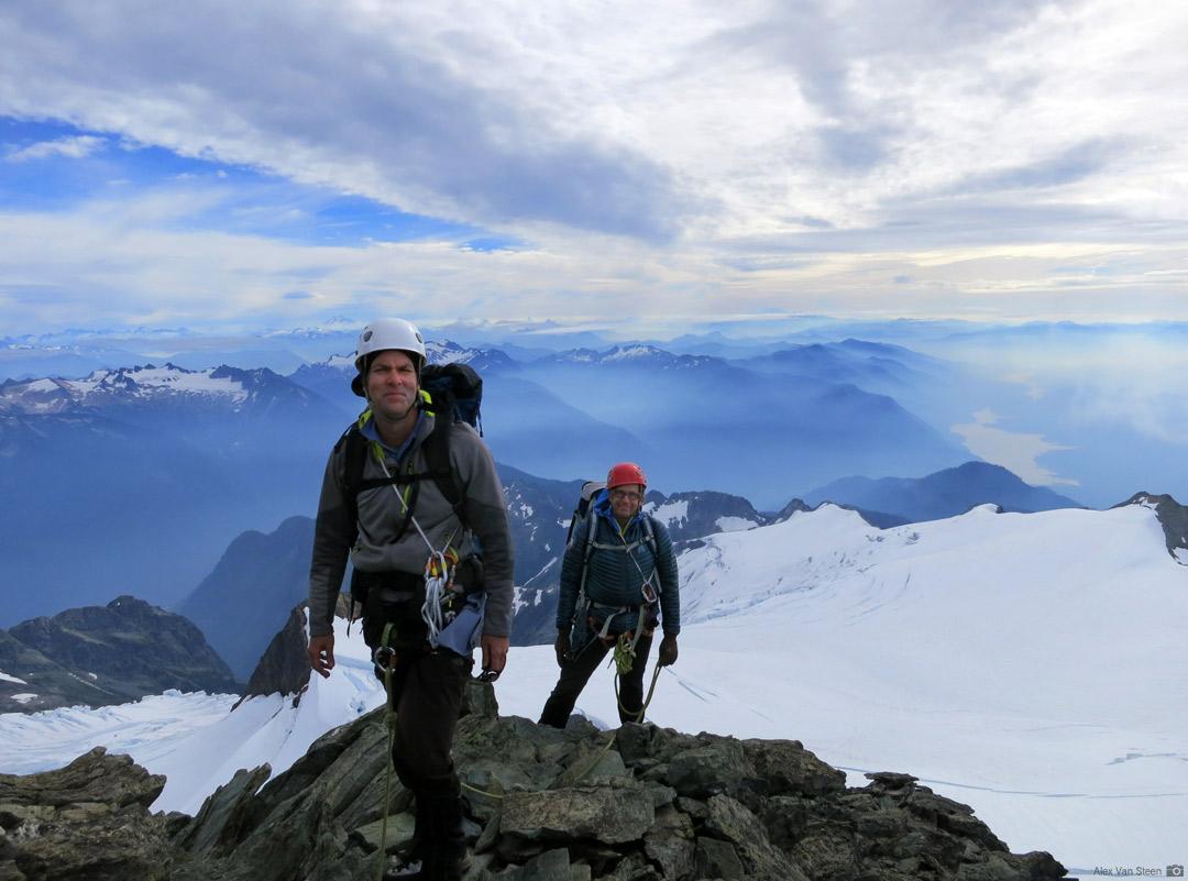 Nearing the summit of Mt. Shuksan