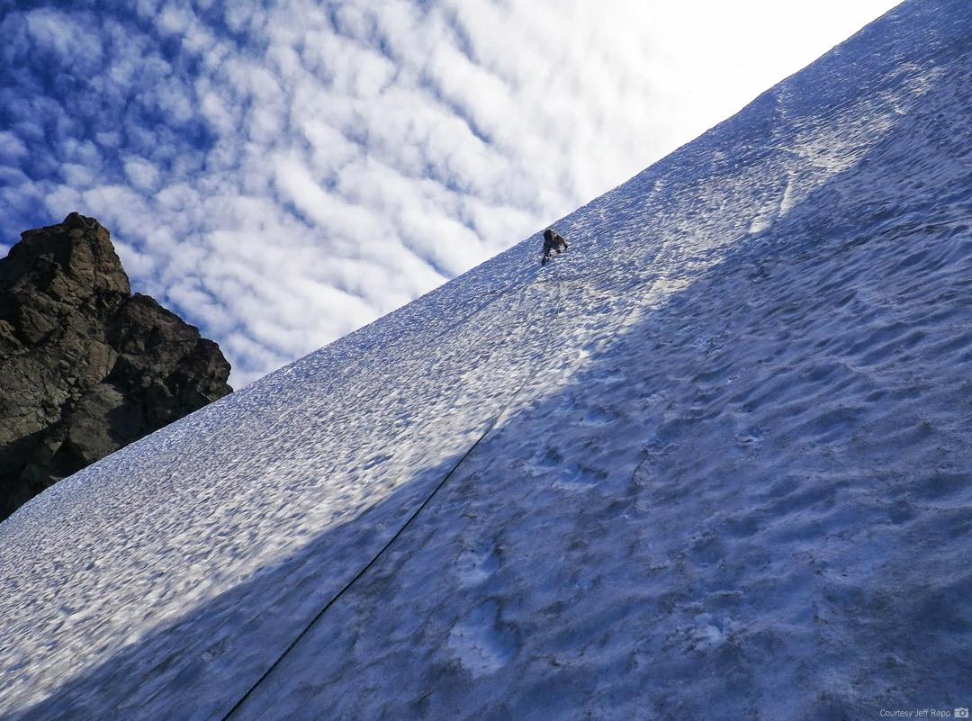 Climbing Winnie's Slidee