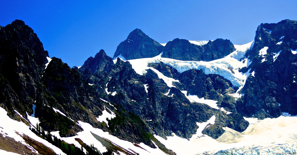 Mt. Shuksan's Fisher Chimneys