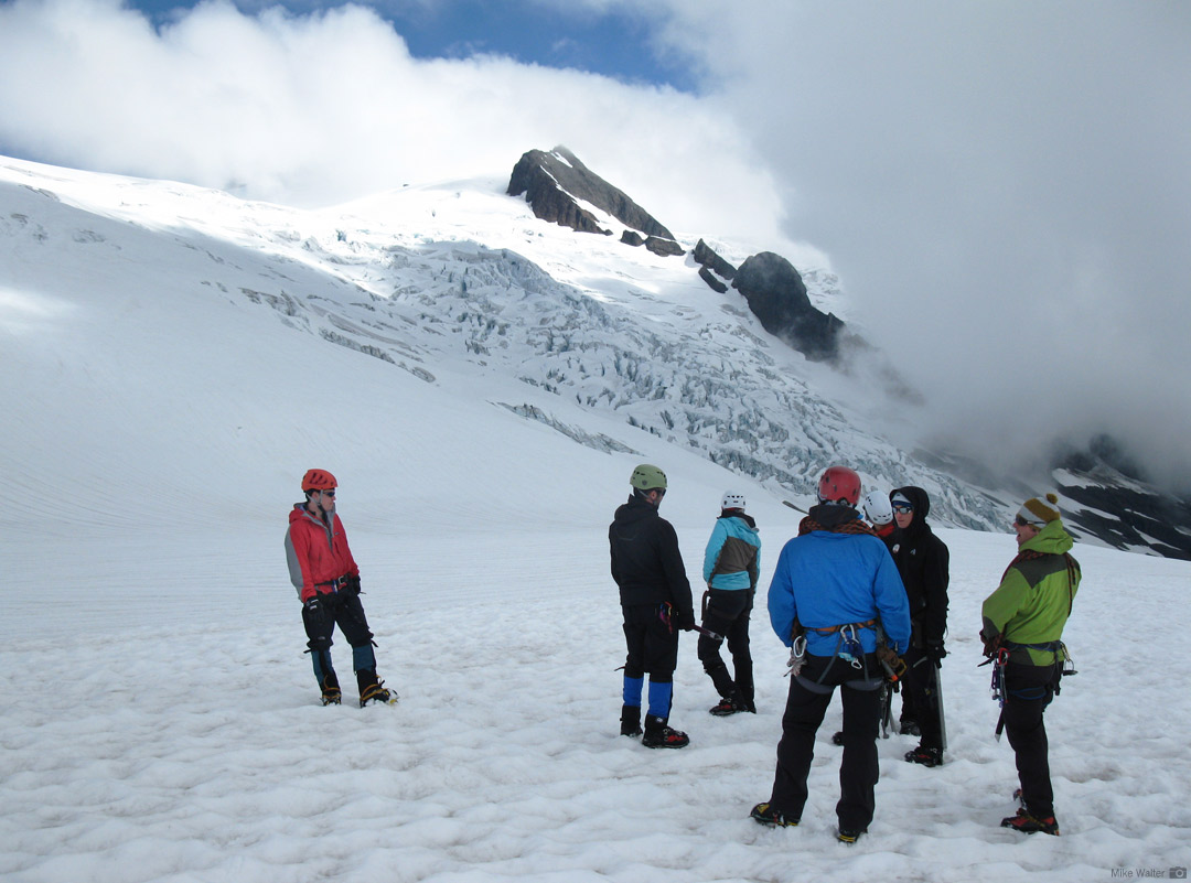 Training on the Sulphide Glacier