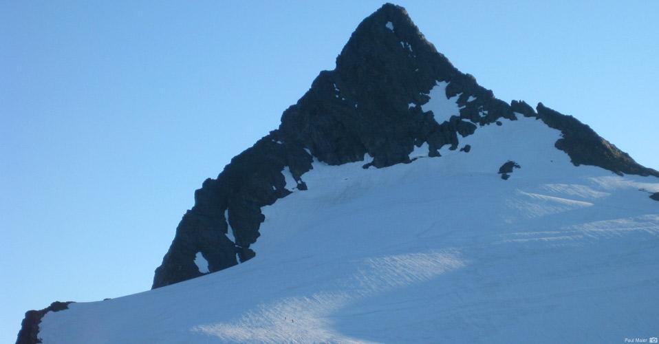 The Sulphide Glacier on Mt. Shuksan