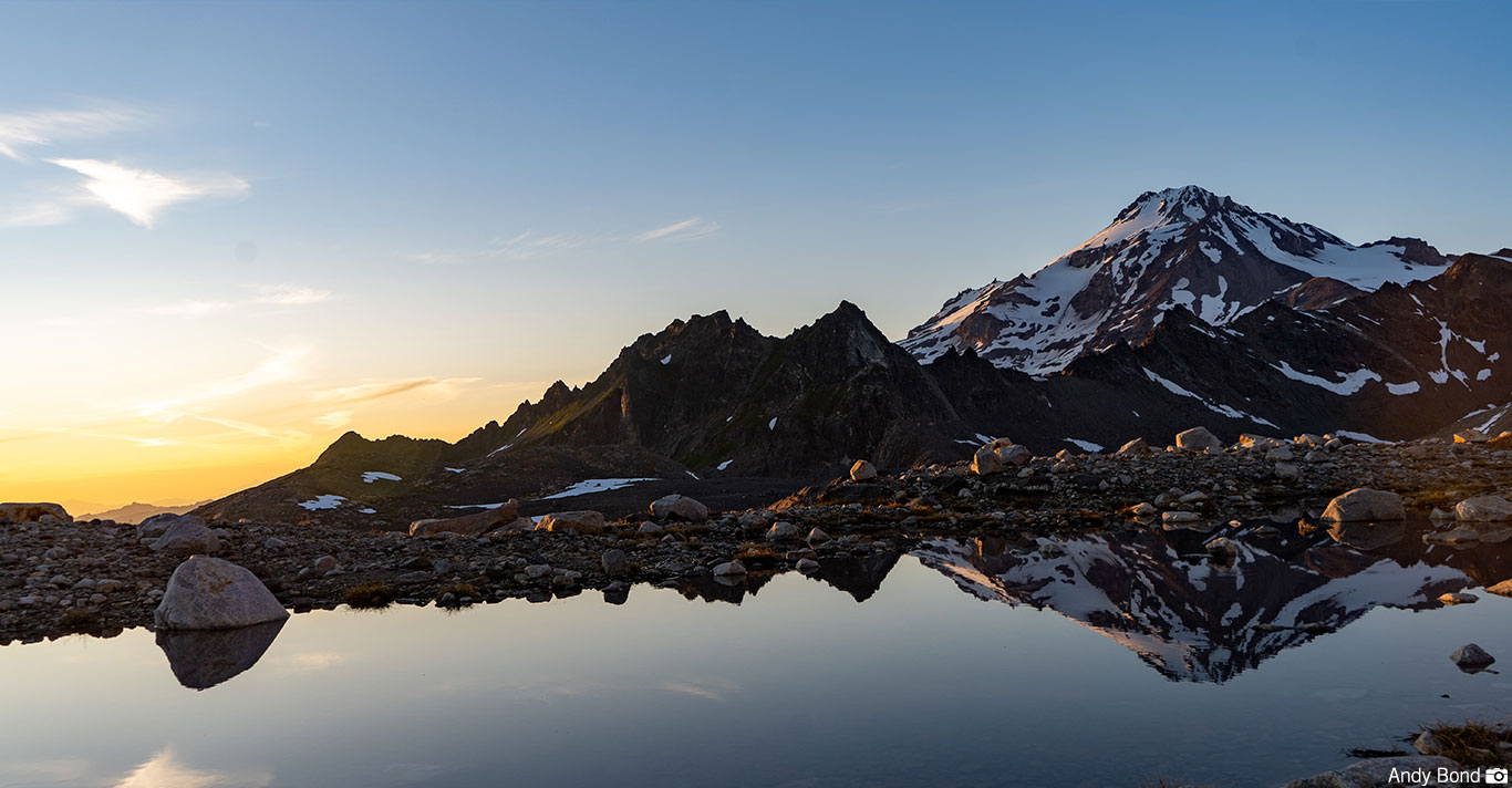 Evening on Glacier Peak