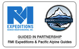 RMI / Pacific Alpine Guides Partnership