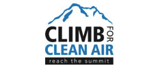 Climb For Clean Air Logo