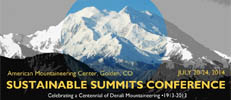 Sustainable Summits