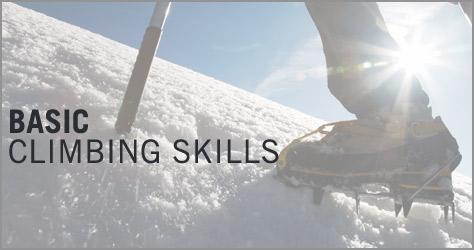 basic climbing skills